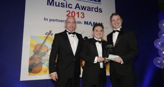 Alex at the MIA Awards
