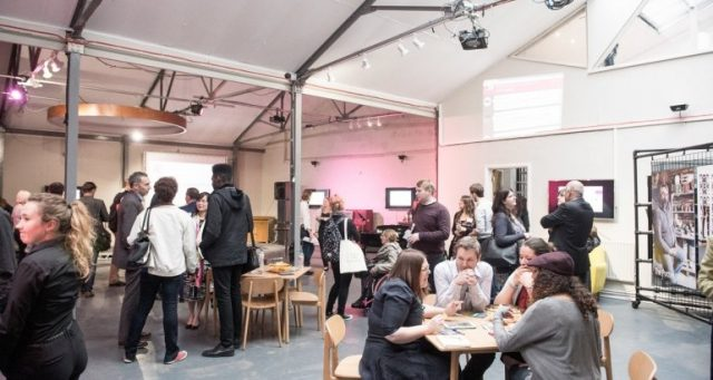 Image of people attending business support event