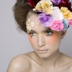 Image of girl with flowers in her hair